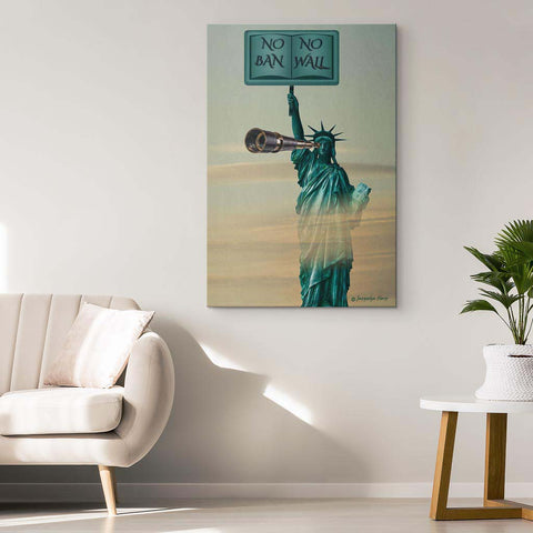 Liberty's Watching - Canvas Art Print