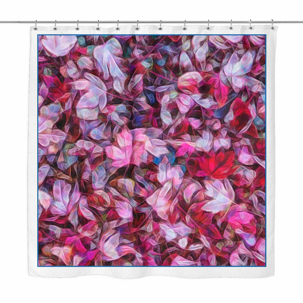 Maple Leaves - shower curtain