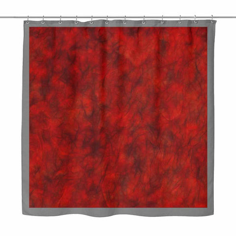 Really Red - shower curtain