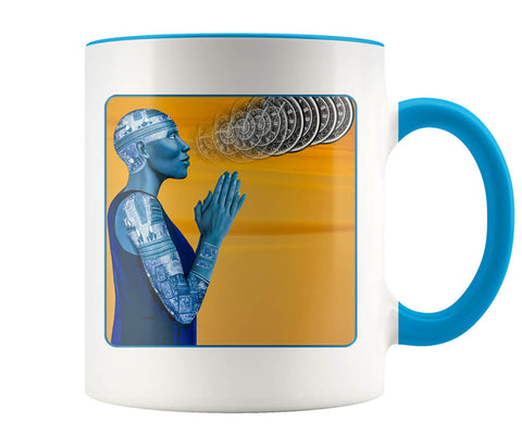 The Seer - 11 oz color accent mug