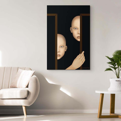 The Watchers - Canvas Art Print