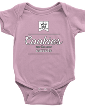 Cookies The New Carrots - Premium Baby Onesie
