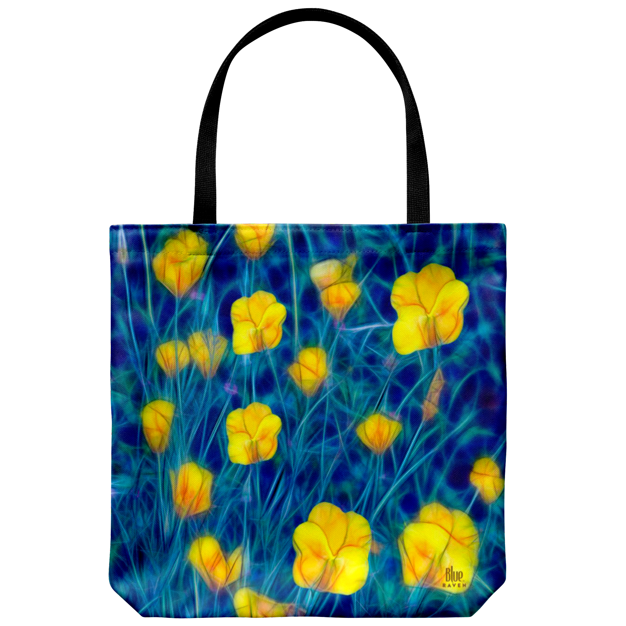 yellow buttercups - tote