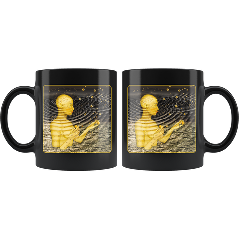 Ripples In The Multiverse - 11 oz black mug