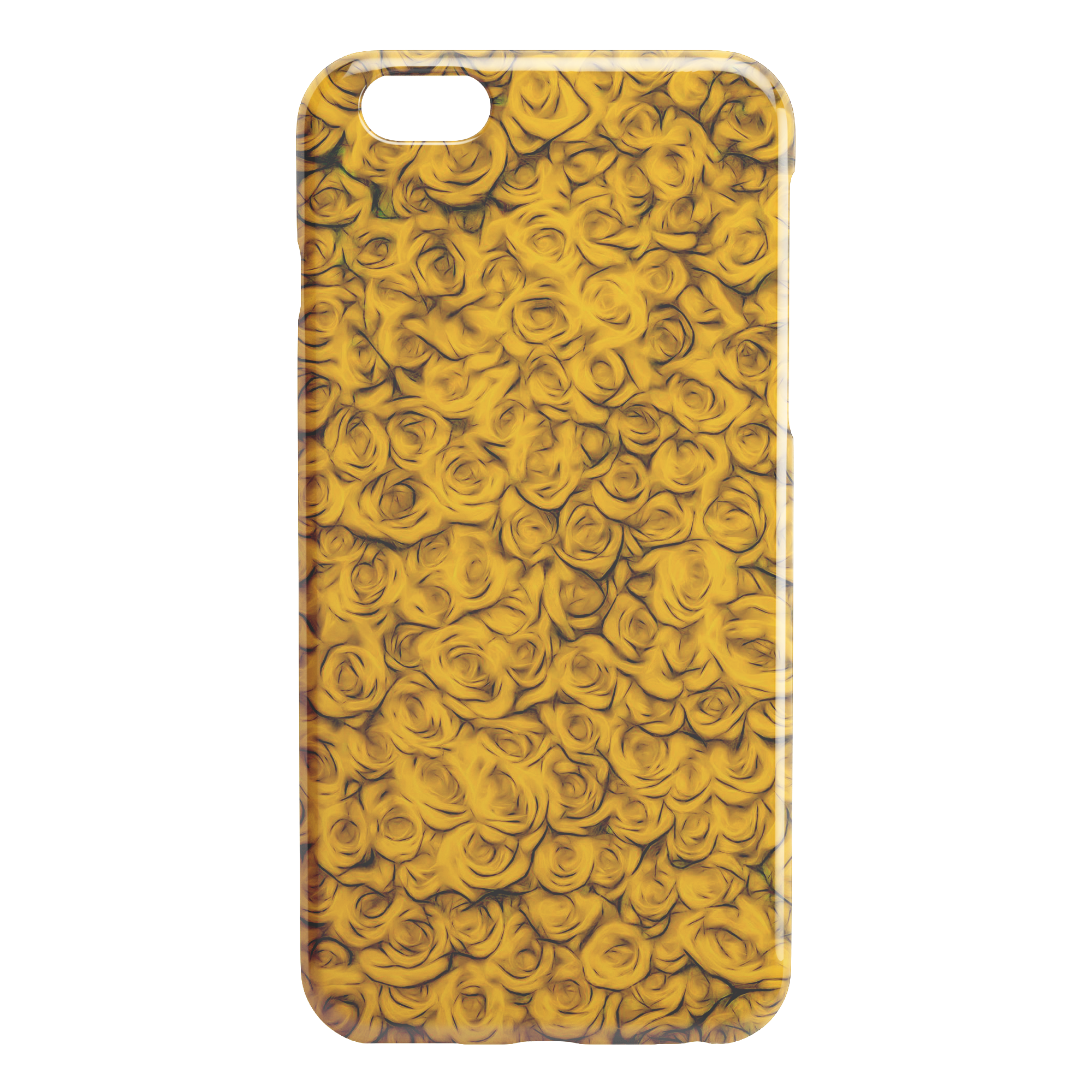 Yellow Roses - iPhone Case