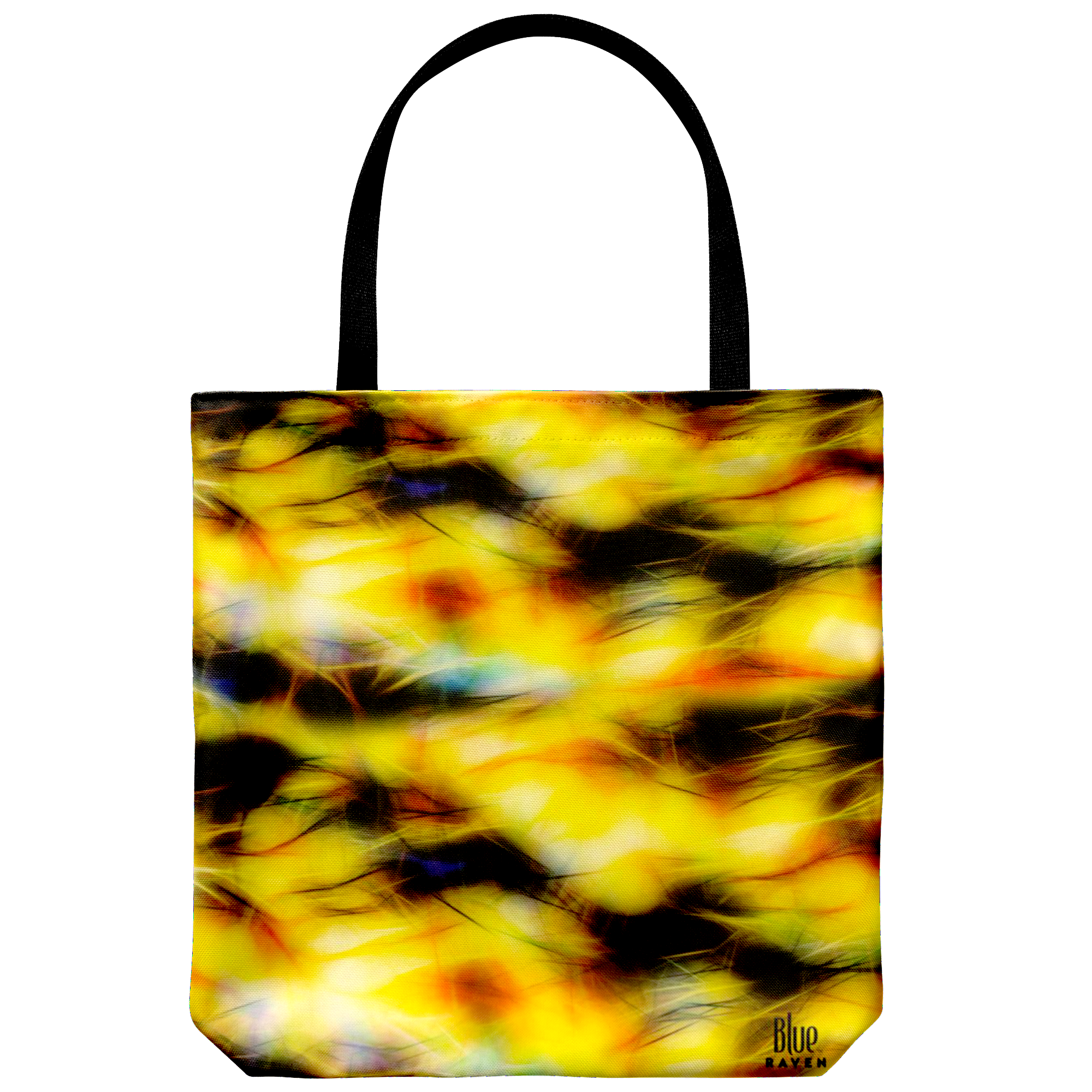 yellow storm - tote