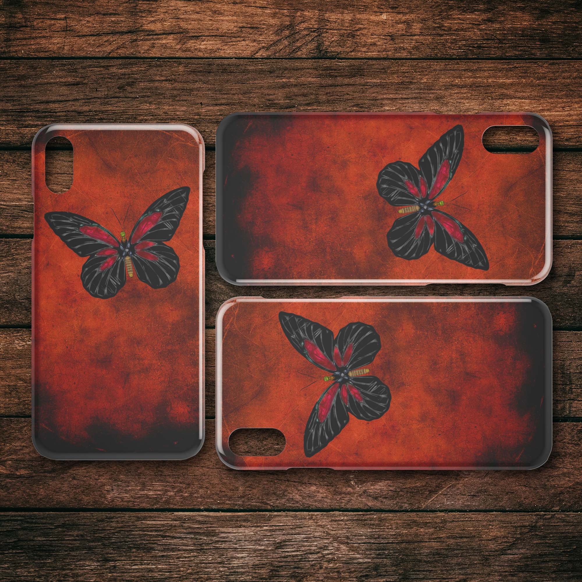 Butterfly 3 - iPhone case