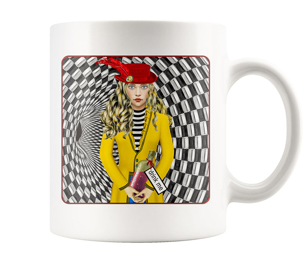 Portrait Of Alice - 11 oz mug