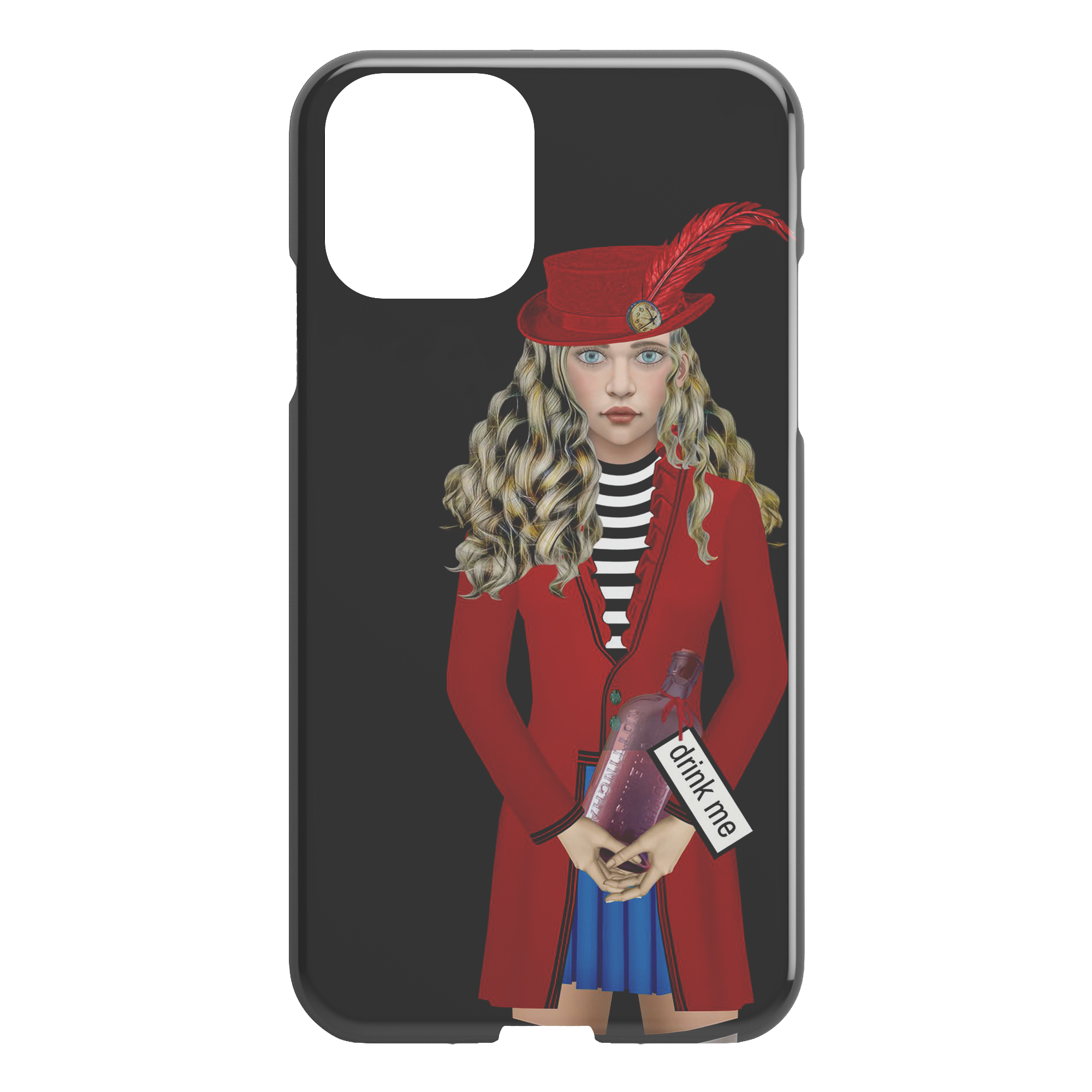 Alice 3 - iPhone case