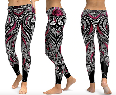 Violet Spectral Leggings - Legasocks