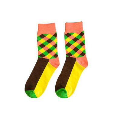 Checkered Stripes - Legasocks