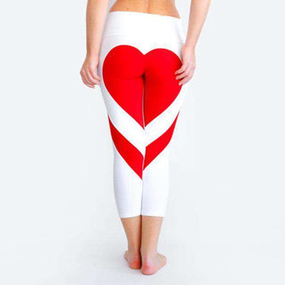 AthletX Color Splash Heart-Leggings - SALE - Legasocks
