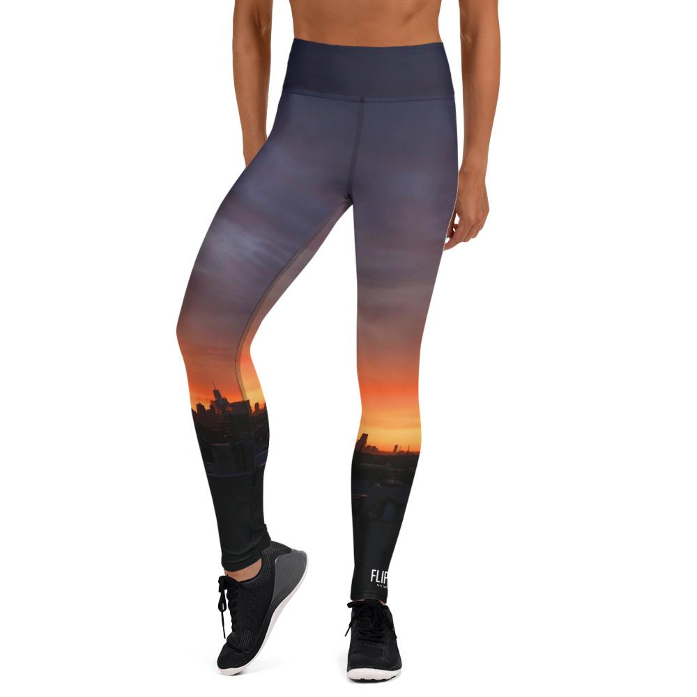 FLIPSIDE Sunset High-Waisted Leggings Front