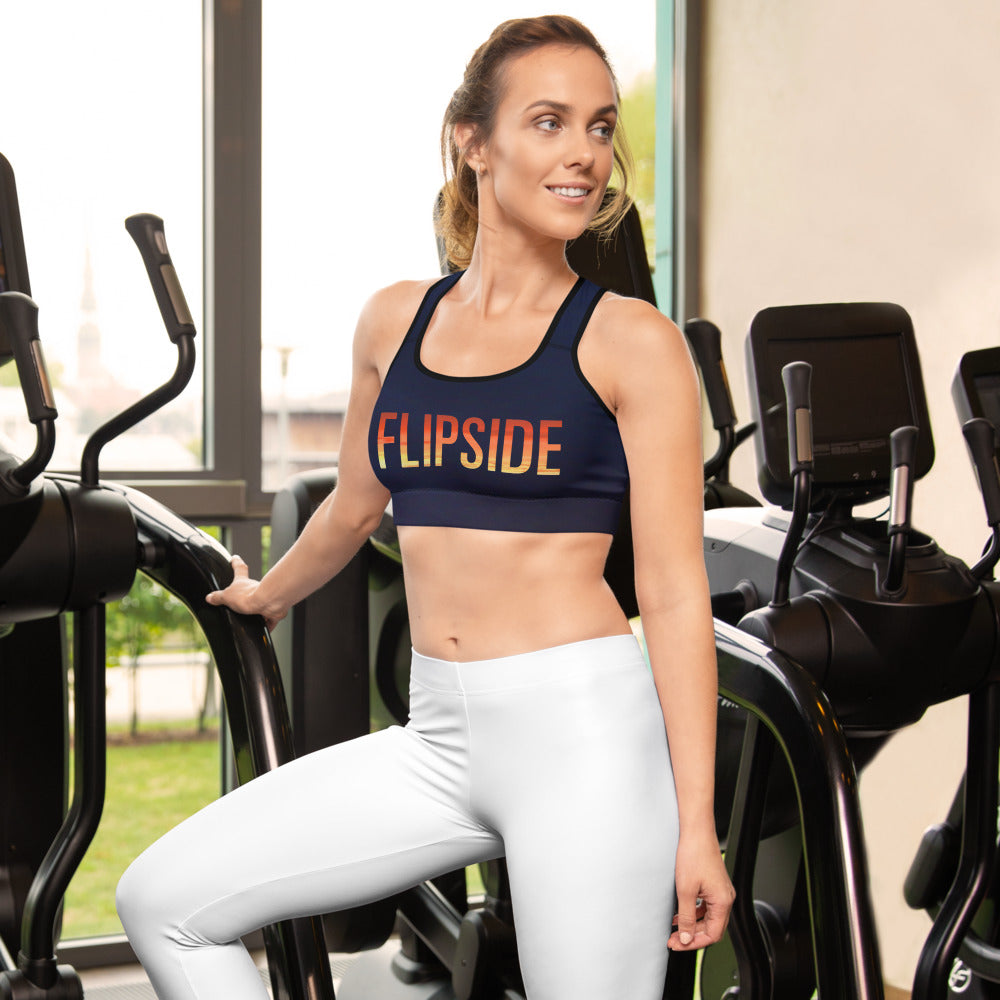 FLIPSIDE Sunset Sports Bra Front