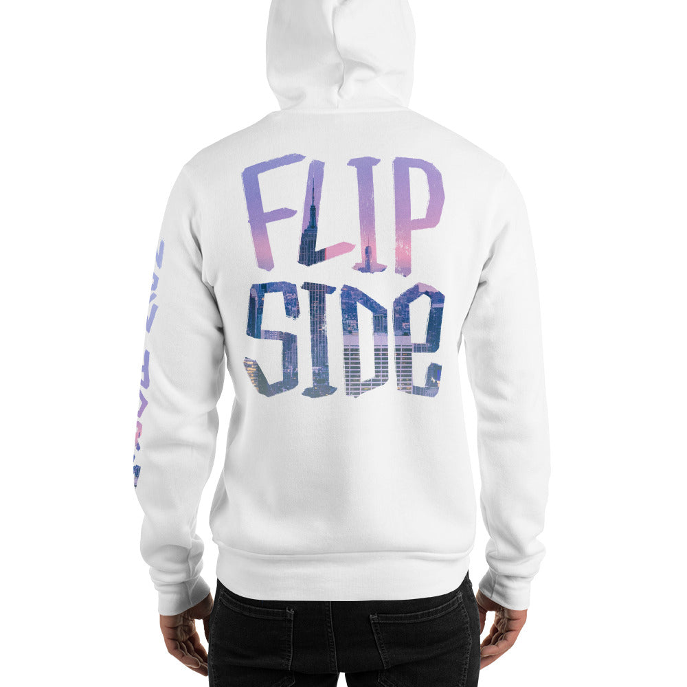 Infinity Cityscape 02 Hoodie White Back