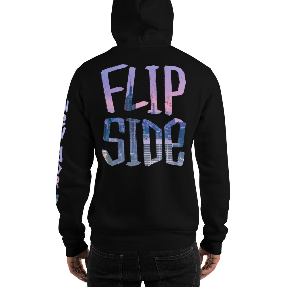 Infinity Cityscape 02 Hoodie Black Back