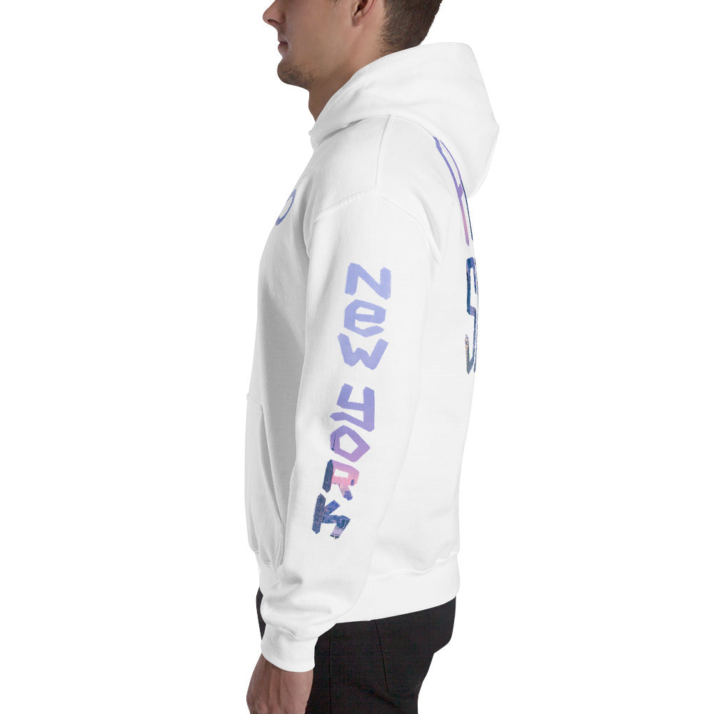 Infinity Cityscape 02 Hoodie White Sleeve