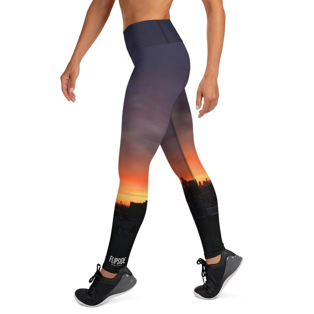 FLIPSIDE Sunset High-Waisted Leggings Left