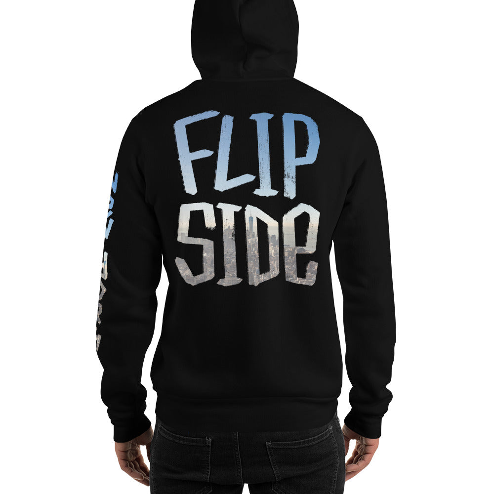 Infinity Cityscape 01 Hoodie Black Back