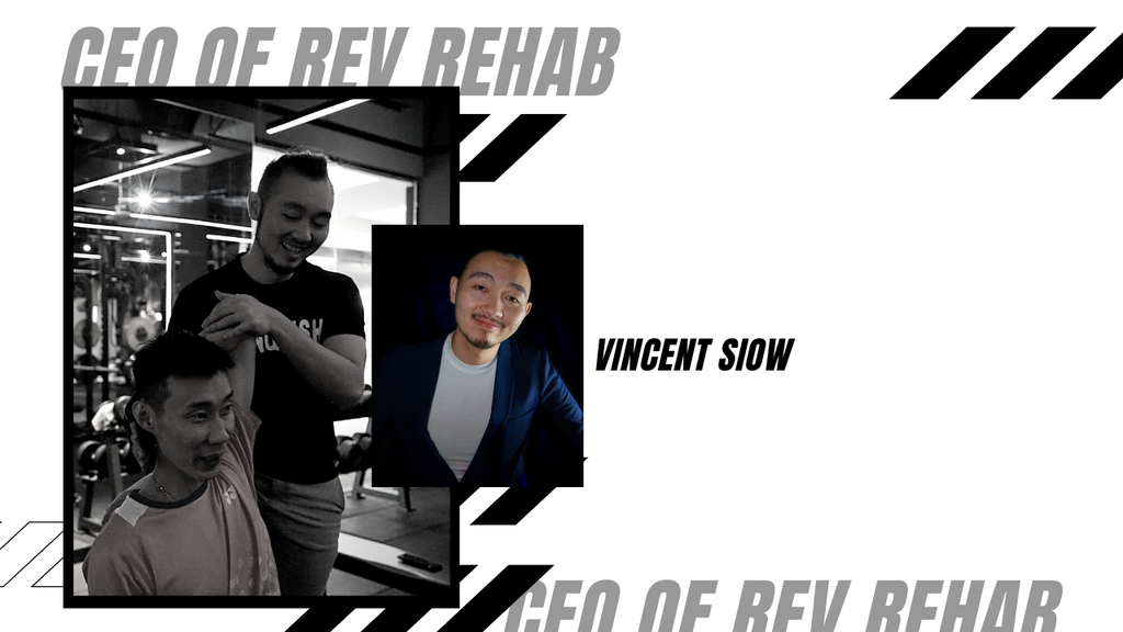 Vincent Siow - CEO of REV