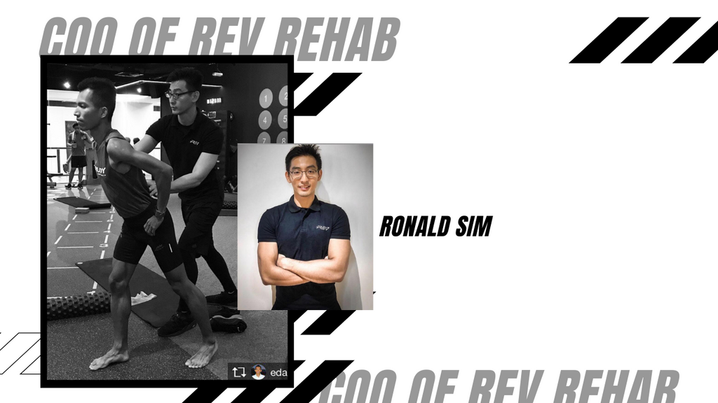 Ronald Sim - COO of REV