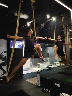 REV AERIAL YOGA | Guys also love it!