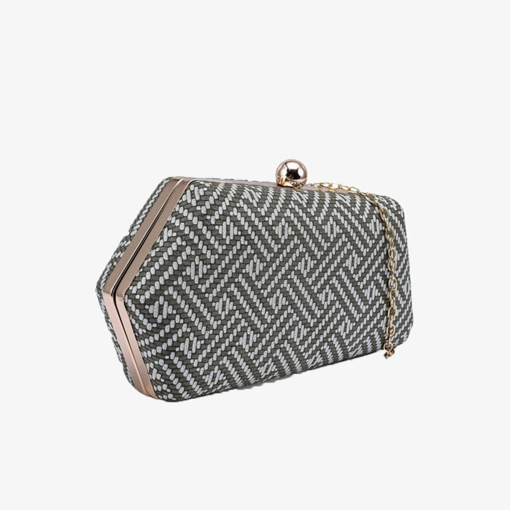 ANYAMAN CLUTCH BAG