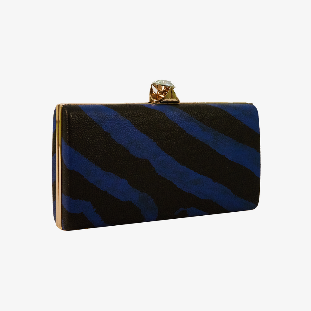 ZEBRA PRINTED CLUTCH