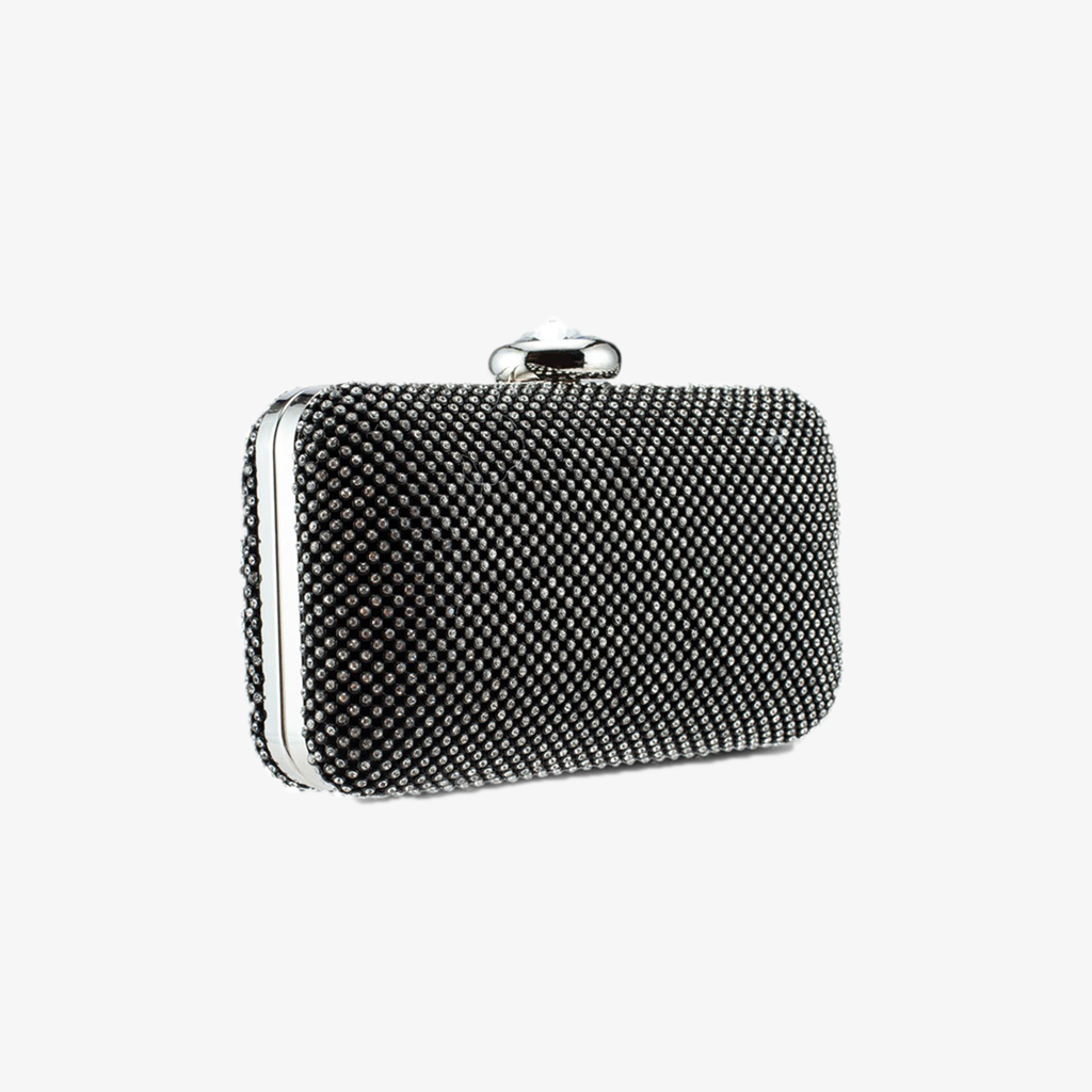 DIAMANTE BOX CLUTCH
