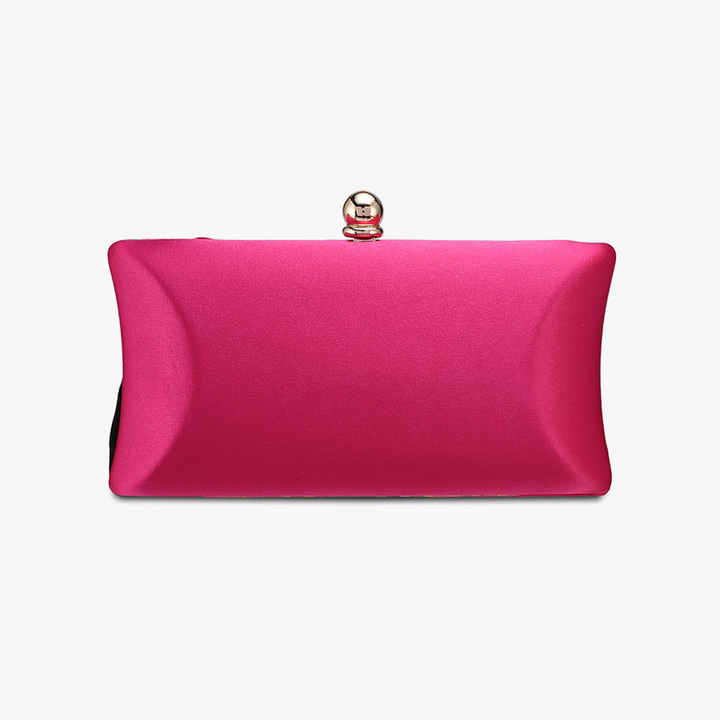 Silky Ribbon Clutch