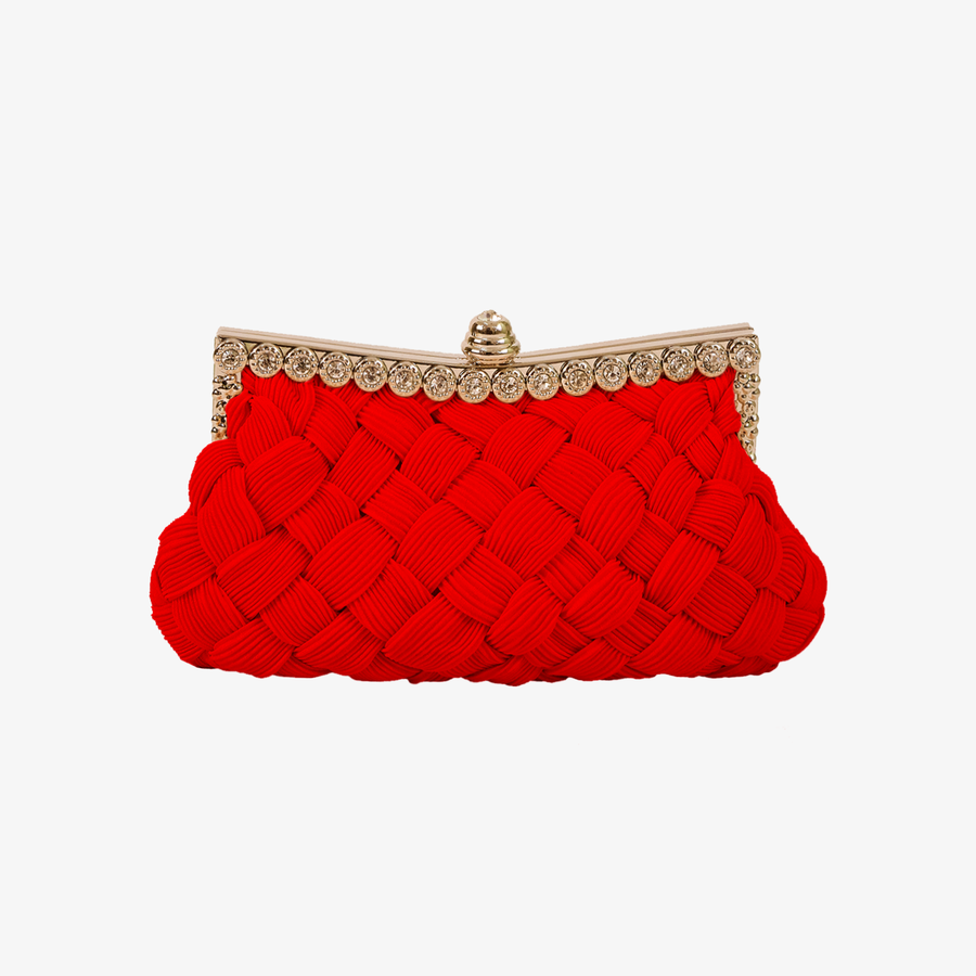 Weaved Mesh Clutch