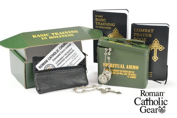 Combat Rosary--Basic Training Pack Silver