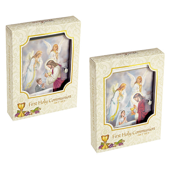Blessed Sacraments First Communion Wallet Set--GIRL