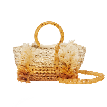 SS20 Corallina Raffia Bag Naturals Carolina Santo Domingo