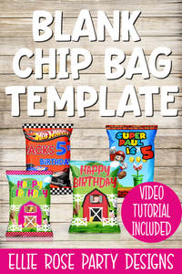 BLANK CHIP BAG TEMPLATE PICMONKEY SILHOUETTE STUDIO CRICUIT