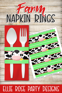 Farm Napkin Rings
