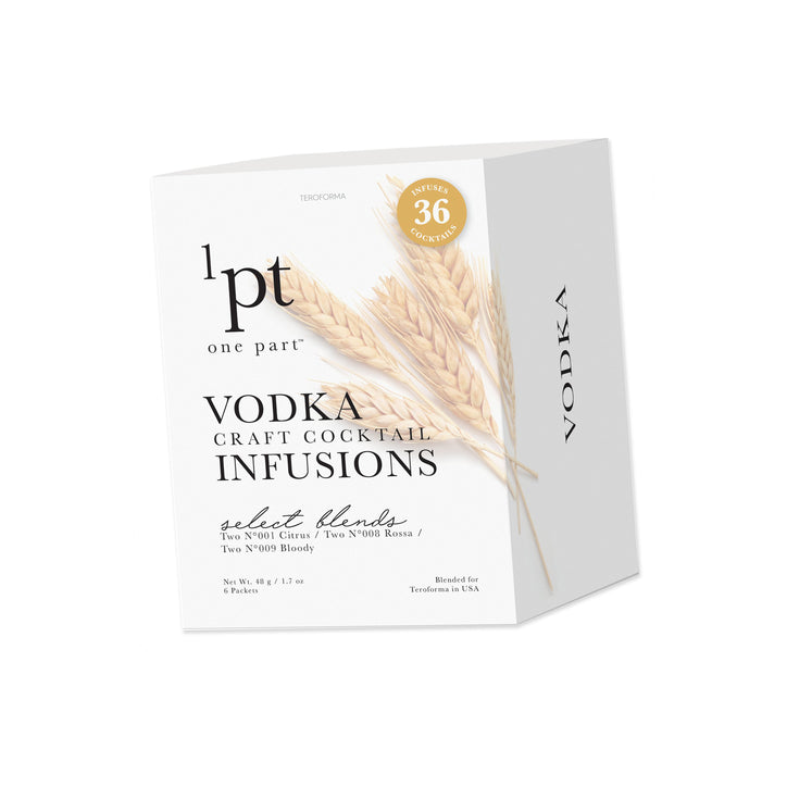 Curated by Social Studies Flair Craft Cocktail Infusions/Vodka