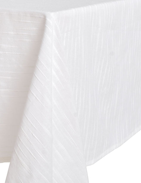 White Small Rectangle Tablecloth