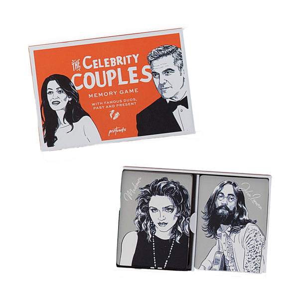 The Celebrity Couples Memory Game