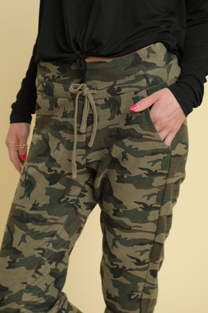 Camo Jogger Sweatpants