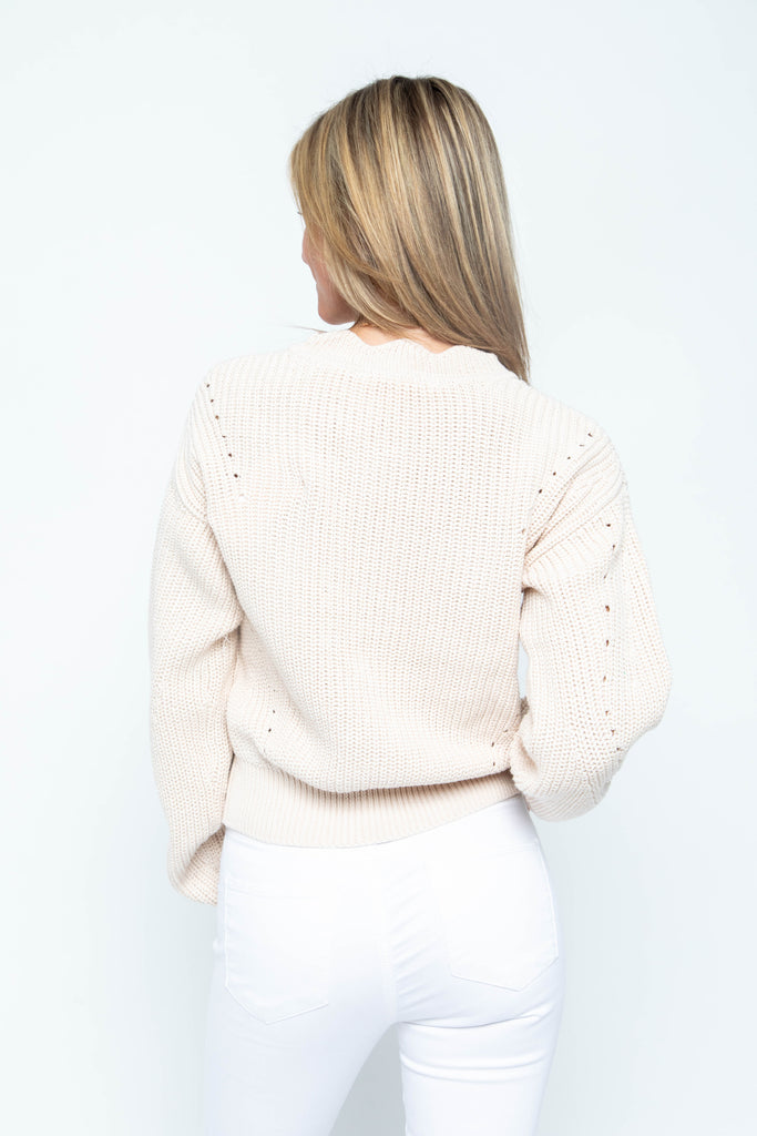 Knitted Sweater Top