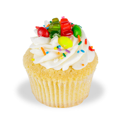 Candyland Poundcup Cupcake