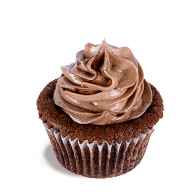 Chocolate Insanity Poundcup Cupcake