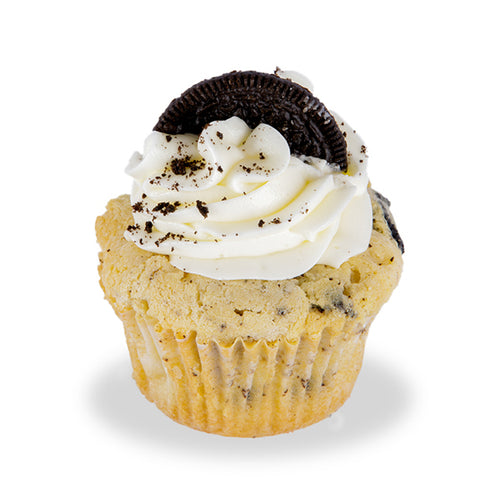 Cookie & Cream Poundcup Cupcake