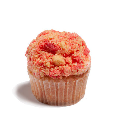 Strawberry Crunch Poundcup Cupcake