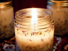 Load image into Gallery viewer, Citrus & Sage - 8oz (45-55hrs) - Scented Soy Jar Candle