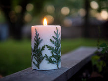Load image into Gallery viewer, North Candles Tree Scented Candle 100% Organic Soy Wax
