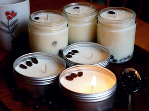 Coffee - 8oz (45-55hrs) - Scented Soy Jar Candle