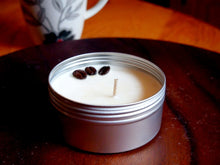 Load image into Gallery viewer, Coffee - 4oz (10-15hrs) 100% Organic Soy Wax Scented Jar Candle
