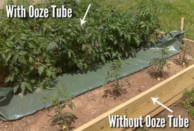 Watering Bags - Ooze Tube Drip Irrigation Watering Bag - 40 Gallon - Vegetable Garden